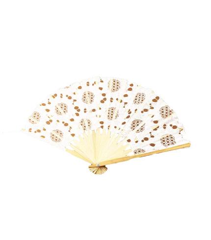White Bamboo Hand Fan