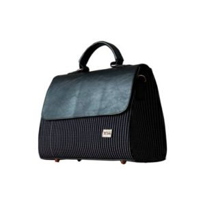 Black Smock Designed Ladies Bag