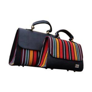 Smock Designed Ladies Bag - Multicoloured