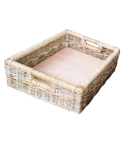 multipurpose woven basket
