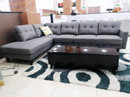 Dark Grey Furniture Set