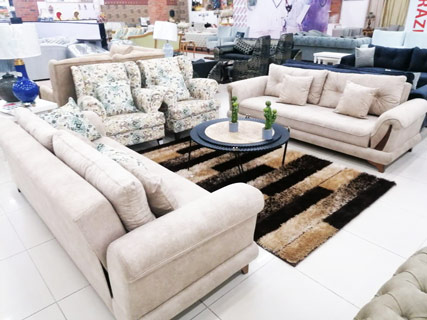 Light Brown Furniture Set