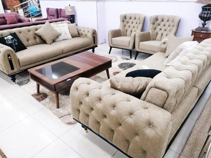 Furniture Set - Cream