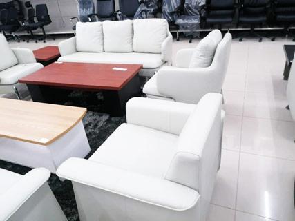 Leather Furniture Set - White