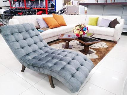 White Corner Furniture Set