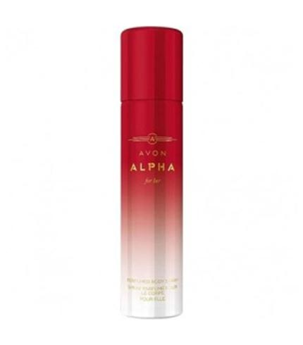 Alpha For Her Perfumed Body Spray – 75ml