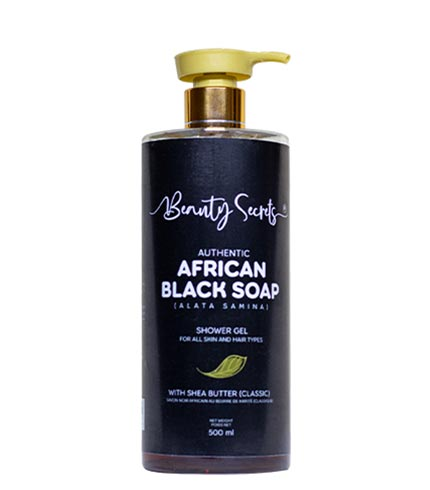 African Black Soap With Shea Butter Shower Gel