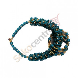 Beaded Necklace and Bracelet - Green