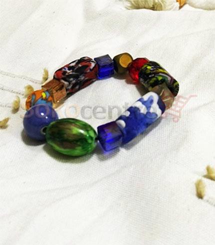 Multicoloured Beaded Bracelet