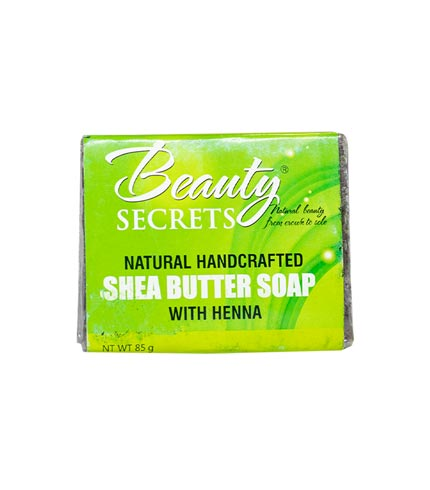 Shea Butter Soap With Henna (85g)