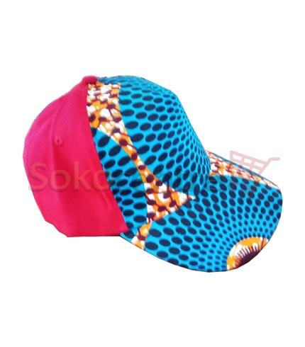 Pink Design African Print Baseball Cap