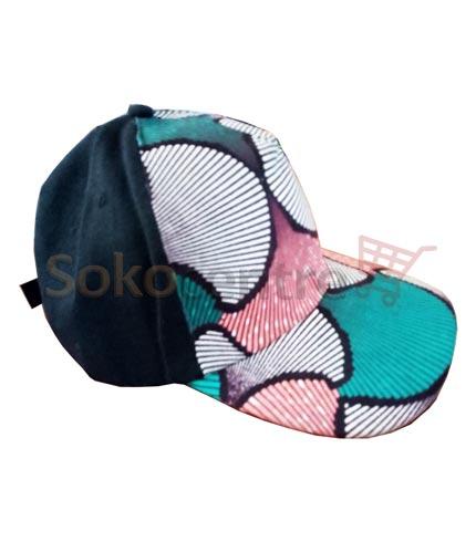 Black Design African Print Baseball Cap