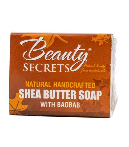 Shea Butter Soap with Baobab (85g)