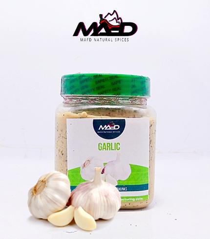 100% Organic Roasted Garlic Paste