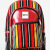 Multicoloured Smock Designed Backpack (With Front Compartment)