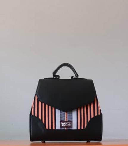 Beige Fugu Handbag