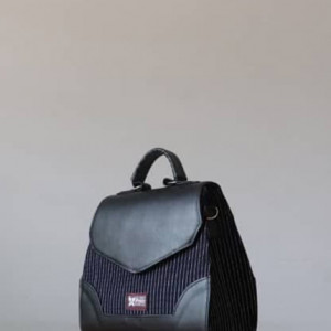 Black Fugu Handbag