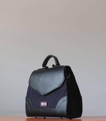 Black Fugu Handbag