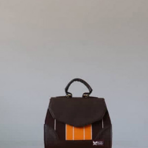 Brown Fugu Handbag