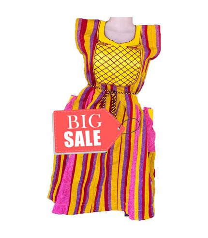 Multicoloured Fugu Dress