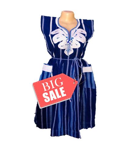 Blue Fugu Dress
