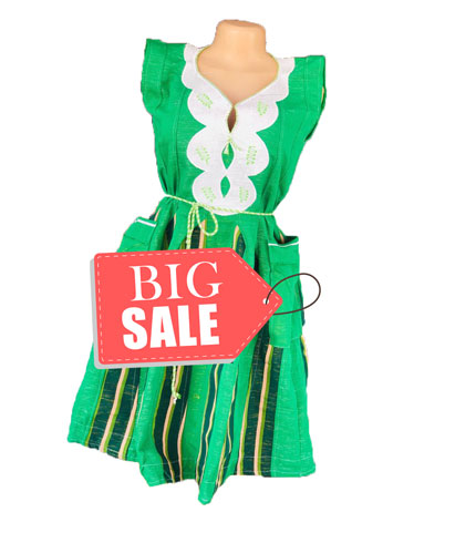 Green Fugu Dress