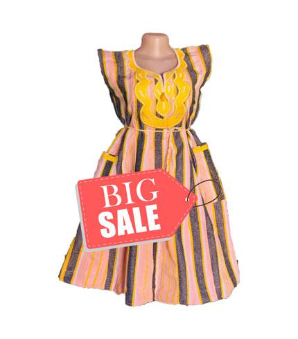 Beige Fugu Dress
