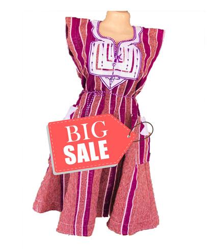 Violet Fugu Dress
