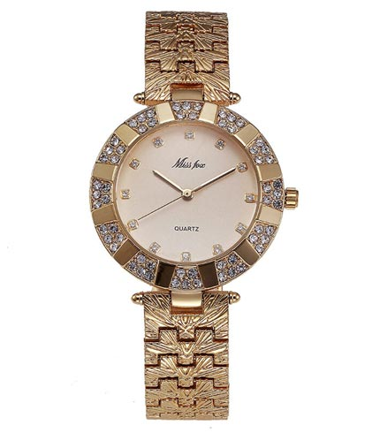 Classic Women's Gold Quartz Watch