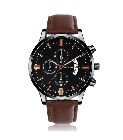 Men's Stainless Steel Business Watch