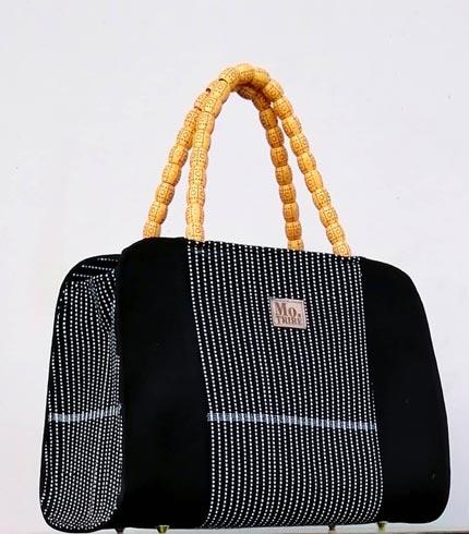 Black Smock Design Bag