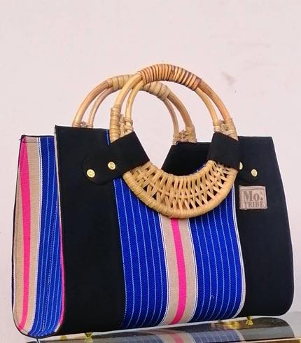 Blue & Pink Smock Design Bag