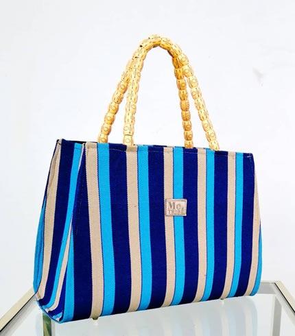 Blue Smock Design Bag
