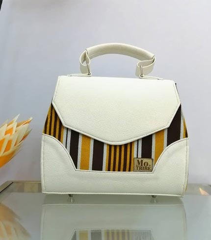 gold-and-white-design-smock-handbag