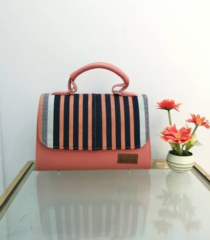 orange-and-black-smock-design-handbag