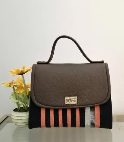 orange-and-brown-smock-design-handbag