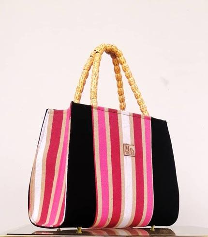 Pink Design Smock Handbag