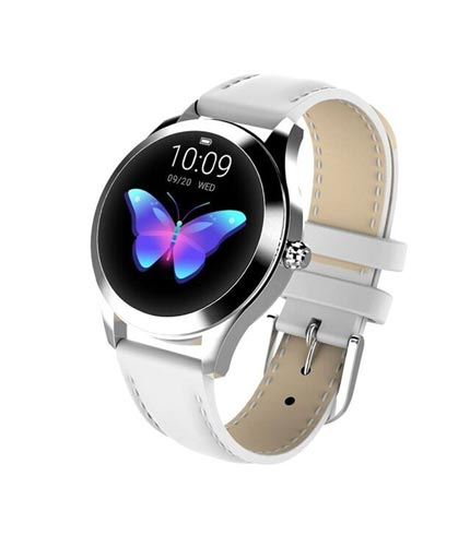 This Smartwatch uses a Bluetooth interface for its connection. Band Material: Metal / Leather (Optional). Power: Rechargeable Battery. Functions: Alarm Clock, Heart Rate Monitor, Pedometer, Sleep Monitor, Call and Message Alert, App Notifications, Camera Control. Band Length: 24 cm / 9.45 inch. Order now on sokocentre.com for home delivery and at the best price.