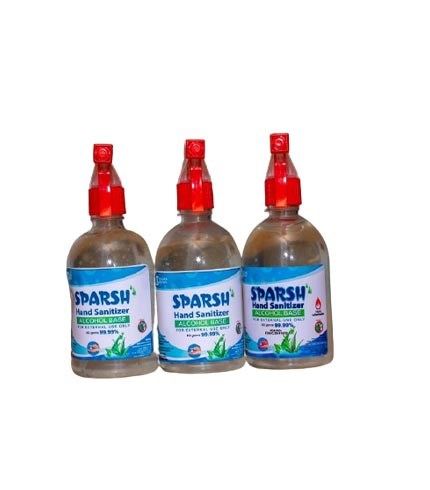 SPARSH hand sanitizer